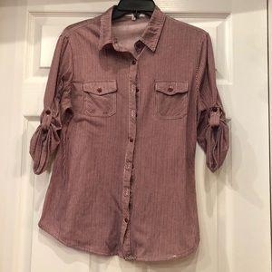 Eden & Olivia button down shirt M long sleeve